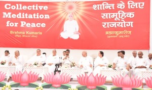 Collective Raj-yoga Program for Peace, Held 'Yoga-key to health, peace & harmony'—Dr Ishwar Acharya